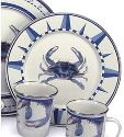 Blue Crab - Tropical Dinnerware