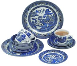 Blue Willow Dinnerware Sets - Churchill China