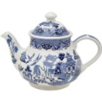 Blue Willow Teapot - Blue Willow Dinnerware