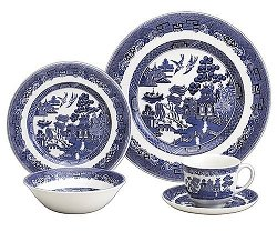 Blue Willow Dinnerware