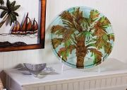 Cape Craftsmen Palm Tree Serving Platter