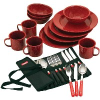 Camping Dinnerware by Coleman