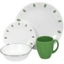 Green Dinnerware