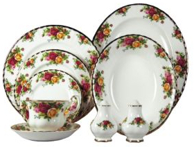 Dinnerware Place Settings - Hostess Serving Set