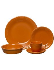 Orange Dinnerware - Fiesta Dinnerware - Tangerine