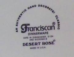 Kitchen Dinnerware - Oven Safe Backstamp