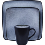 Home Trends Blue Dinnerware Set  sc 1 st  Dinnerware Shopping Guide & Home Trends Dinnerware