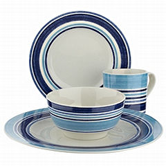 Blue Dinnerware - Johnson Brothers Blue Stripe
