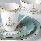 Lenox British Colonial - Tropical Dinnerware - Tradewind Pattern