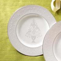 Lenox Dinnerware - Opal Innocence Tree Accent Plate