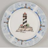 Lighthouse Dinnerware Nautical Dinnerware Beach Dinnerware