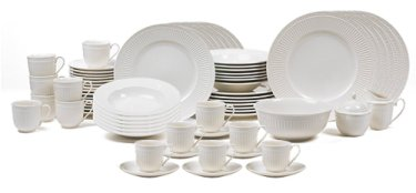 Mikasa Italian Countryside Dinnerware - White Dinnerware Sets