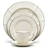 Noritake Dinnerware - Chandon Platinum