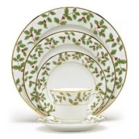 Noritake Holiday Dinnerware - Holly and Berry