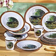 Northern Explorers Melamine Dinnerware