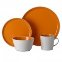 Oneida Dinnerware - Color Burst Chili Mango