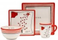 Oneida Dinnerware - Ho Ho Ho - Holiday Dinnerware