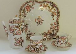 Orange Dinnerware - Antique Dinnerware