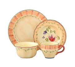 Orange Dinnerware - Pfaltzgraff Dinnerware - Napoli