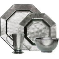 Pewter Dinnerware Set
