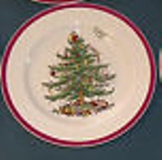 Spode Christmas Tree Vintage Dinnerware
