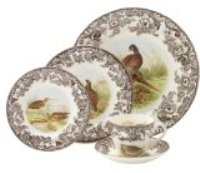 Spode Woodland - Wildlife Dinnerware