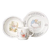 Wedgwood Dinnerware - Childrens Dishes - Peter Rabbit