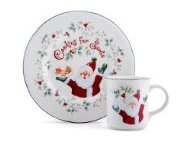 Winterberry Dinnerware - Cookies and Milk for Santa