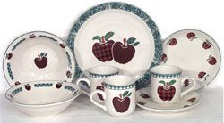 Ingleman Designs-Apple Jack-Apple Dinnerware