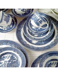 Blue Willow Dinnerware Sets
