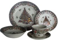 Churchill Seasons Greetings Christmas Dinnerware Set