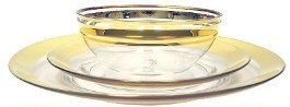 Colin Cowie Glass Dinnerware