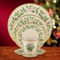 Lenox Dinnerware - Holiday Pattern