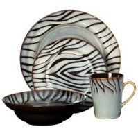 Mikasa Congo Dinnerware - Animal Print Decor