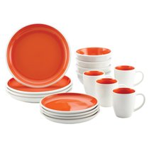 Orange Dinnerware - Rachael Ray Rise Collection