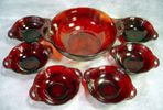 Red Dinnerware - Red Glassware
