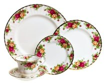 Fine China Dinnerware Sets - Royal Albert Old Country Rose