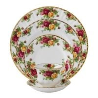 Royal Doulton Dinnerware - Royal Albert - Country Rose
