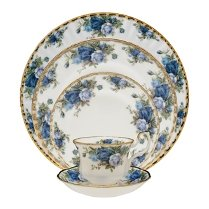 Fine China Dinnerware Sets - Royal Albert Moonlight Rose