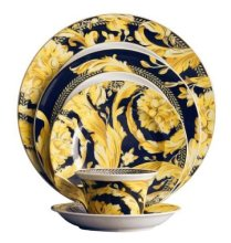 Fine China Dinnerware Sets - Versace Vanity Classic