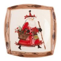 Vietri Dinnerware - Old St. Nick - Holiday Dinnerware