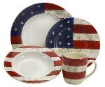 Warren Kimble Dinnerware - Colonial - Patriotic Dinnerware