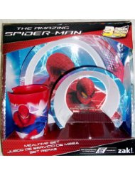 Zak Designs Spiderman Dinnerware