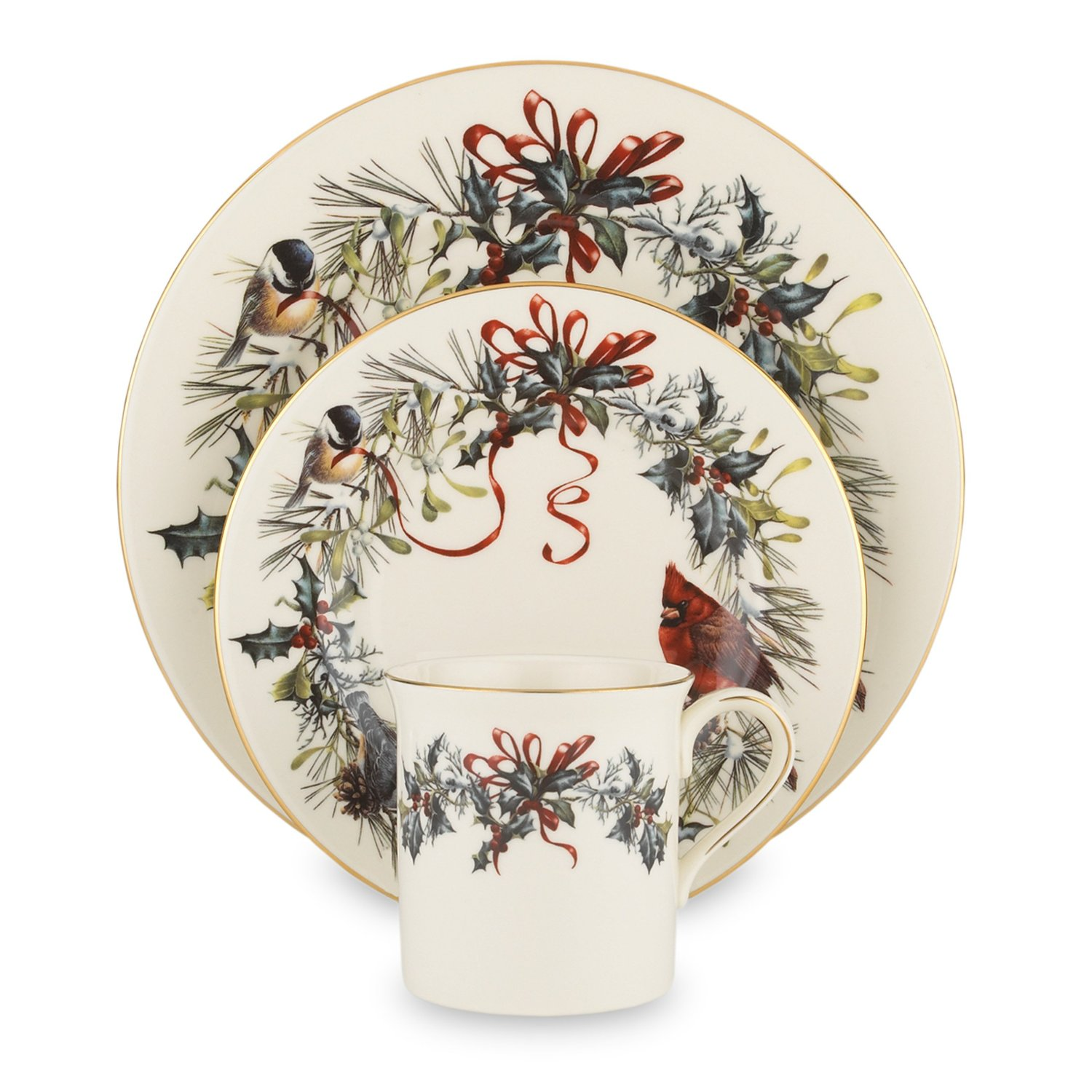 Holiday Dinnerware Featuring Birds  sc 1 st  Dinnerware Shopping Guide & Bird Dinnerware: Wide Variety of Choices