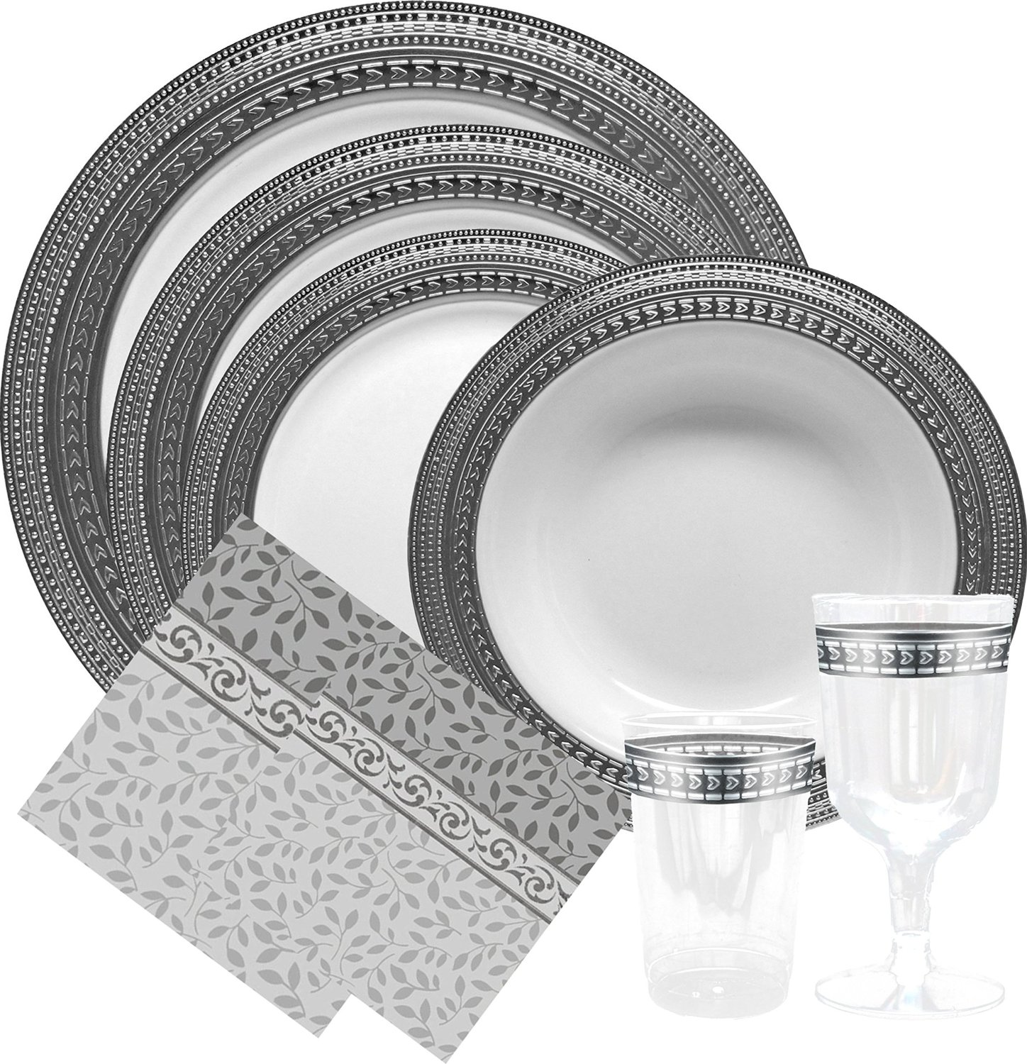 fancy paper plates Celebrate using the most unique paper plates out there make sure to check out matching paper napkins to really complement your plates we have all the party supplies you need with a large selection of decor, banners and even paper coasters.